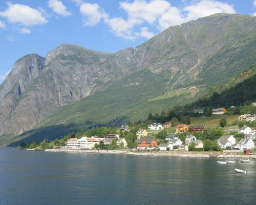 guided group tour of fjord Norway