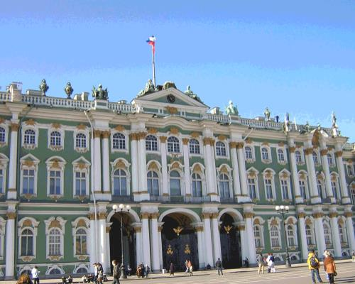 escorted tour to St Petersburg from Ireland