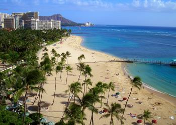 Honeymoon and sun holiday in Hawaii