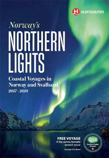 Northern Lights cruise winter 2017 2018
