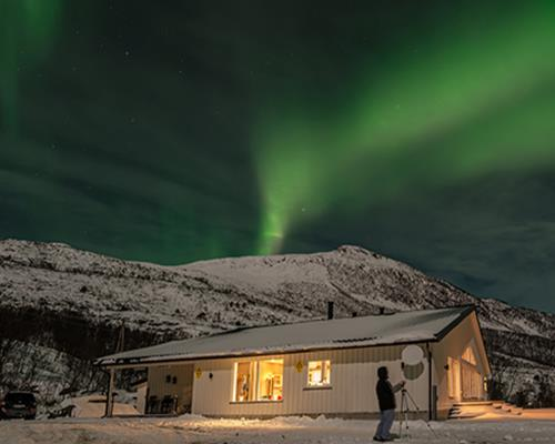 Arctic Panorama Lodge romantic Northern Lights
