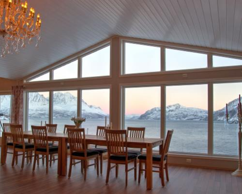 Arctic Panorama luxury guest house in Norway
