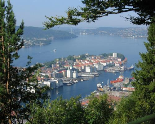 escorted tour to Norway fjords