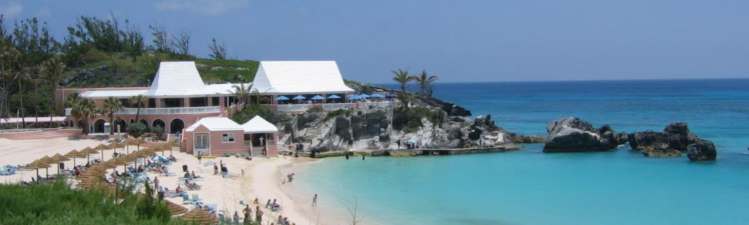 luxury island holiday in Bermuda for winter sun and summer sun