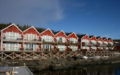 Sea View Apartments at Malangen Resort Norway