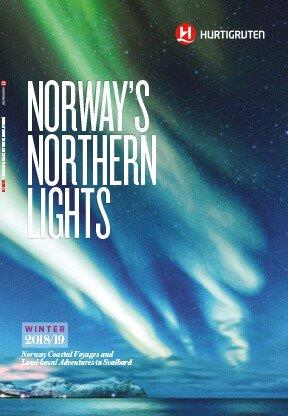 Northern Lights cruise winter 2018 2019